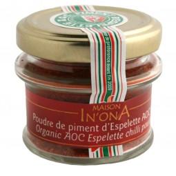 Chili-Pulver Espelette Bio 30 g