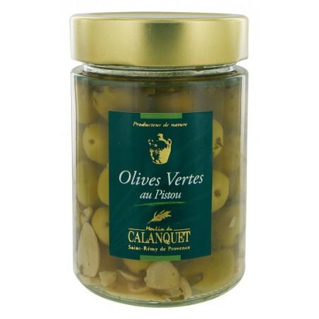 Olives Vertes au Pistou 175 g