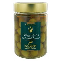 Grüne Oliven mit Kräutern 175 g