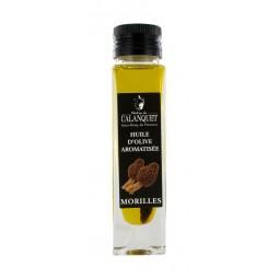 Huile d'olive aromatisée aux Morilles 100 ml