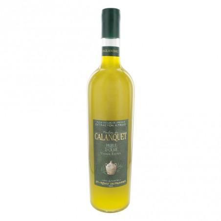 Olive oil Aglandau sealed glass bottle 75 cl