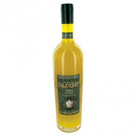Olive oil Salonenque sealed glass bottle 75 cl
