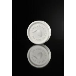 Round white soap 150 g