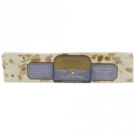 Nougat Blanc Tendre barre 100 g