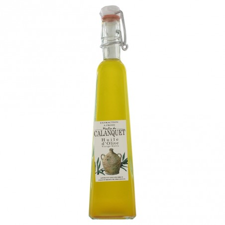 Natives Extra Olivenöl-Mischung dreieckige Form Flasche 120 ml