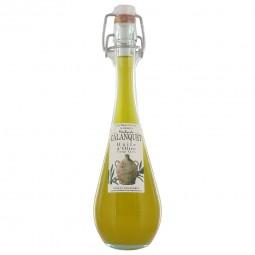 Natives Extra Olivenöl-Mischung runde Form Flasche 120 ml