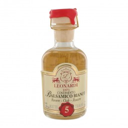 White balsamic vinegar (Modena) 5 year old - 50 ml