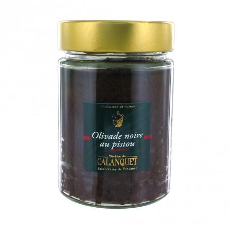 Olivade noire au pistou 275 g