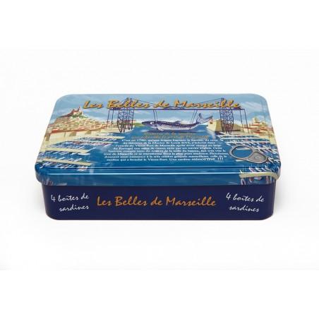 Coffret de sardine les belles de Marseille