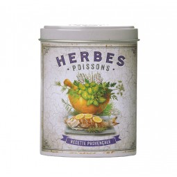 Boite verseuse herbes Poissons