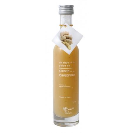 Vinaigre pulpe de Citron et Gingembre 10 cl