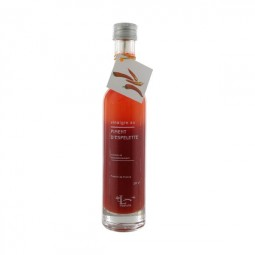 Vinegar with Espelette pepper pulp 10 cl