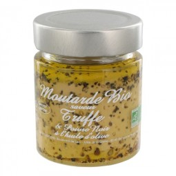 Bio truffle mustard with black pepper 130 g