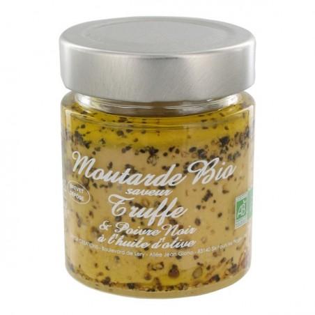 Bio truffle mustard with black pepper 130 g