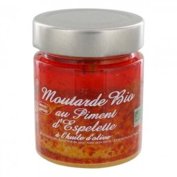 Bio mustard with Espelette pepper 130 g