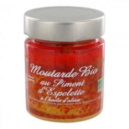 Bio mustard with Espelette pepper 130 g