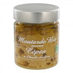 Bio mustard with boletus 130 g