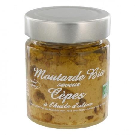 Moutarde Bio aux Cèpes 130 g