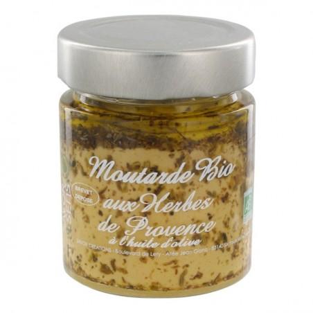 Moutarde Bio aux Herbes de Provence 130 g