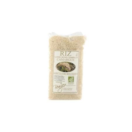 Riz long semi-complet de Camargue 1 kg