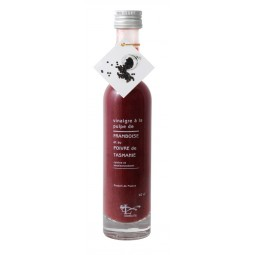 Vinegar with raspberry pulp and Tasmania pepper 10 cl
