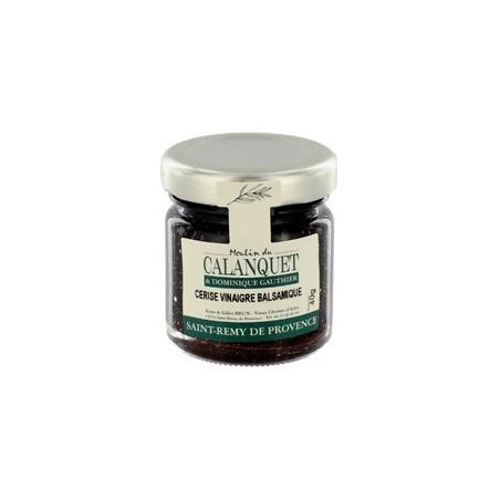 Confiture Cerise vinaigre balsamique 40 g