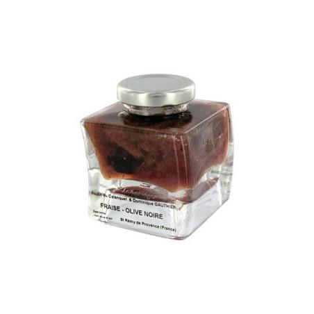Erdbeermarmelade schwarze Oliven 120 g