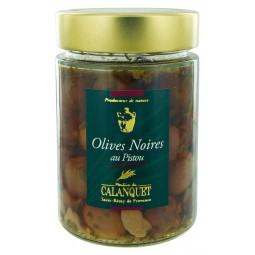Olives Noires au Pistou 175 g
