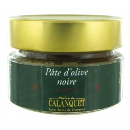 Schwarze Oliven-Paste