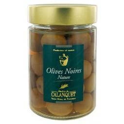 Plain black olives 175 g