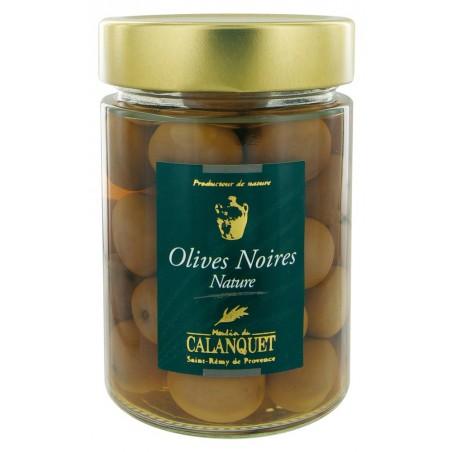Schwarze Oliven Natur 175 g
