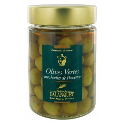 Olives Vertes aux Herbes de Provence 175 g
