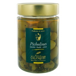 Picholines Menthe Basilic Citron 175 g