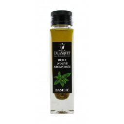 Basil flavored olive oil 100 ml