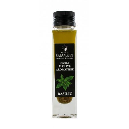Olivenöl mit Basilikum gewürzt 100 ml