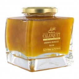 Ananas-Marmelade Mango Rum 350 g