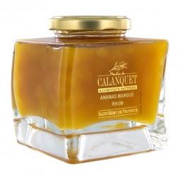 Confiture Ananas Mangue Rhum 350 g