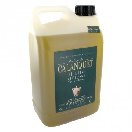Olive oil Aglandau can 3L