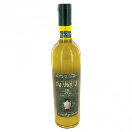 Olive oil Picholine sealed glass bottle 50 cl