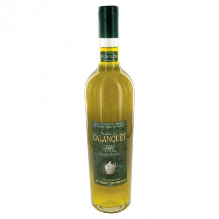 Olive oil Picholine sealed glass bottle 75 cl