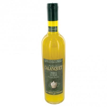 Olive oil Salonenque sealed glass bottle 50 cl