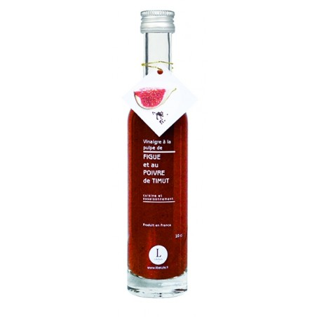 Vinegar with fig pulp and Timut/Timur pepper 10 cl
