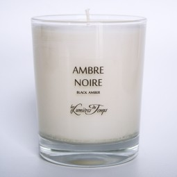 Vegetal Candle Black Amber