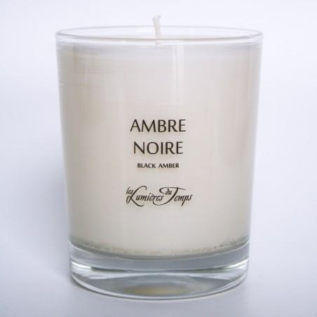 Vegetal Candle Black Amber