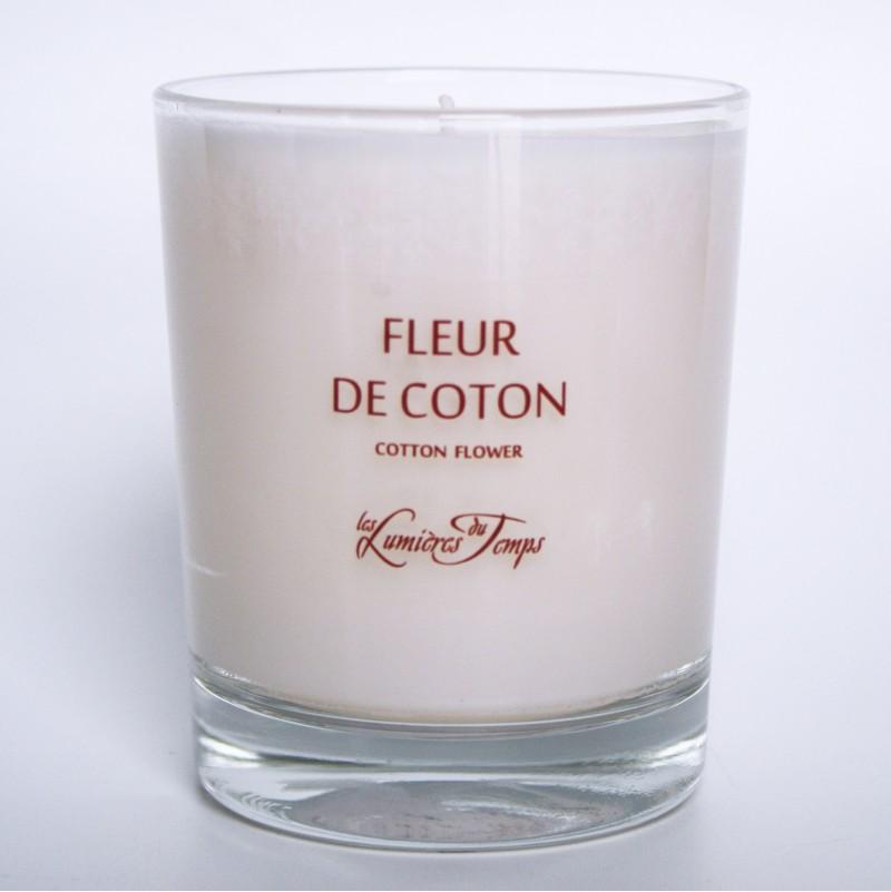 Bougie Végétale Fleur de Coton
