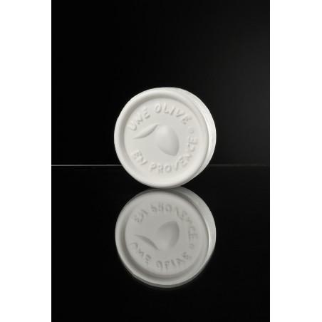 Runde weiße Seife 150 g