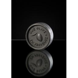 Runde schwarze Seife 150 g