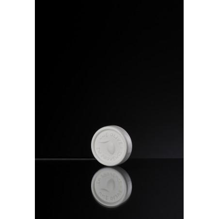 Mini runden weißen Gast Seife 25 g