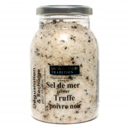 Sea salt truffle and black pepper recharging 580 g