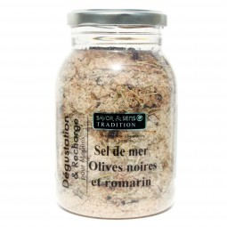 Sea salt black olive and rosemary recharging 580 g